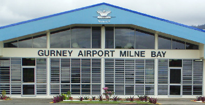 Gurney Airport (Airport for Alotau and surrounding areas)