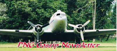 DC3 in Lae Gardens