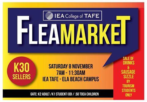 IEA TAFE Flea Market
