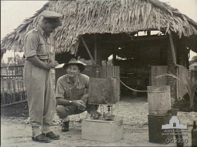 WWII - Inspecting and illegal still