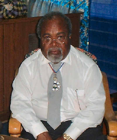 Grand Chief, Sir Michael Somare