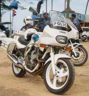 Police Motorcycles 2001