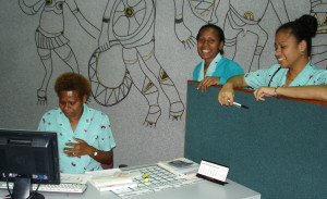Air Niugini Staff